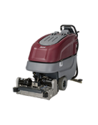 """E24 traction driven cylindrical brush scrubber with a 24"""" cleaning pat"""