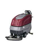 """E26 traction drive disc brush scrubber with a 26"""" cleaning path"""