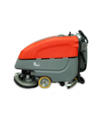 "E30 disc brush traction driven scrubber with a 30"" cleaning path"